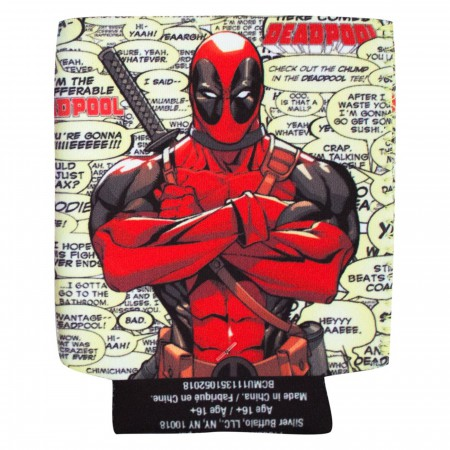 Deadpool Quote Bubbles Can Cooler