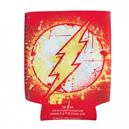 Flash Splatter Paint Can Cooler