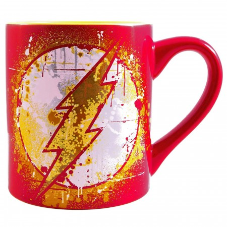 Flash Splatter Paint 20 Ounce Mug