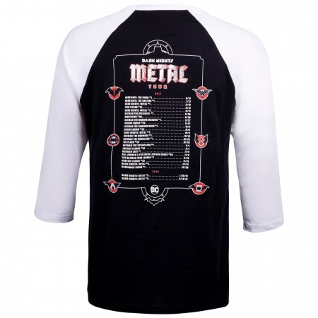 Dark Nights: Metal Tour by Greg Capullo DC Men's Baseball Shirt