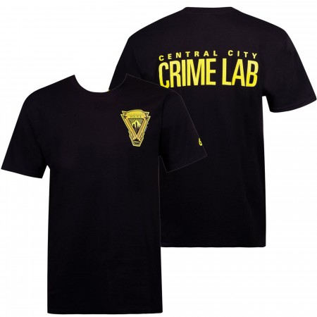 Central City: Crime Lab Flash Men's T-Shirt