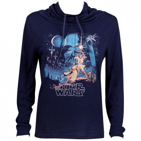 Star Wars Movie Poster Long Sleeve Women's T-Shirt