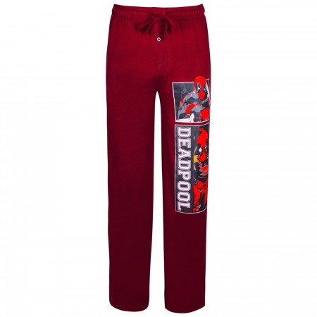 Deadpool Burgundy Sleep Pants