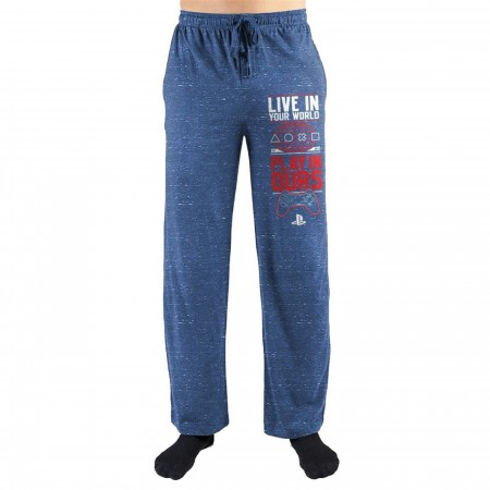 "Sony Playstation ""Live in your World"" Pants"