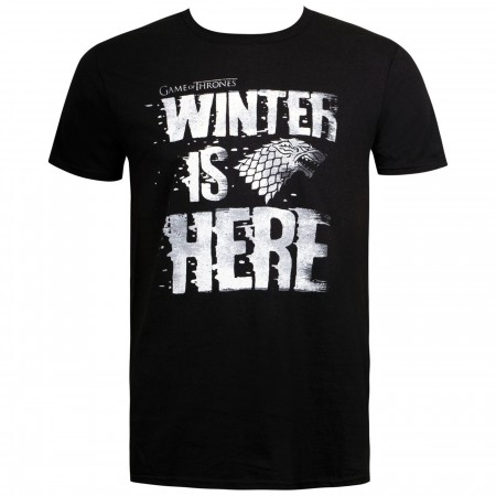 Winter Is HERE Game Of Thrones Men's T-Shirt