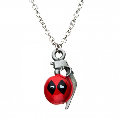 Deadpool Grenade Necklace