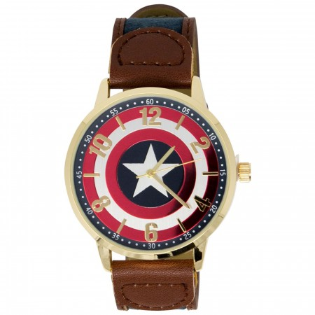 Captain America Logo Watch
