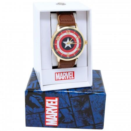 Captain America Logo Watch