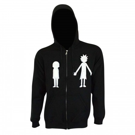 Rick and Morty Silhouettes Hoodie