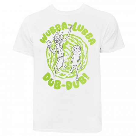 Rick and Morty Wubba-Aubba Dub-Dub! T-Shirt