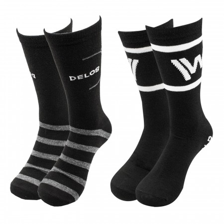 West World 2-pack Crew Socks