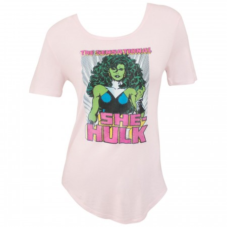 She Hulk the Sensational Women's T-Shirt