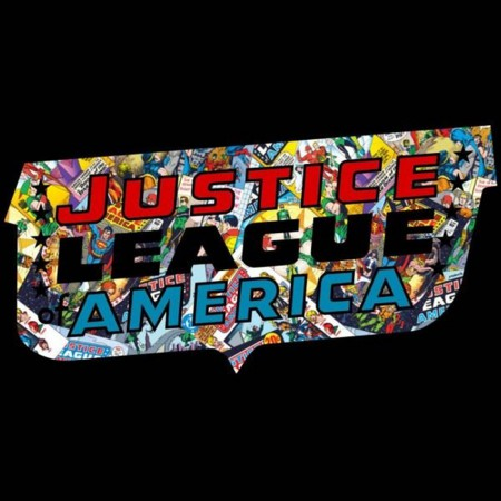 Justice League Roll Sleeve T-Shirt