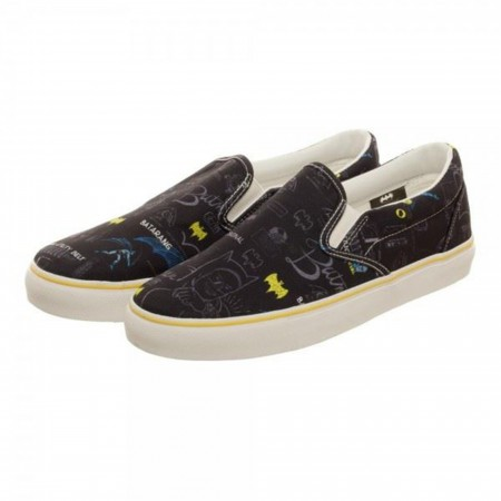 Batman Gear Unisex Dek Shoes
