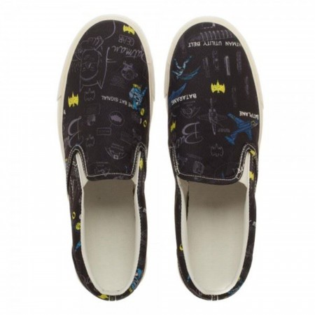 Batman Gear Unisex Dek Shoes