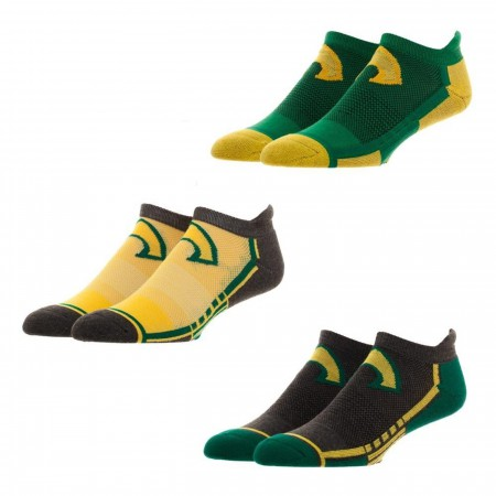 Aquaman 3 Pair Active Ankle Socks