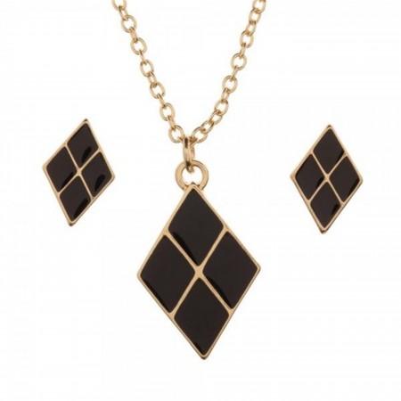 Harley Quinn Jewelry Set & Case