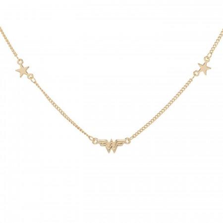 Wonder Woman Petite Logo Necklace