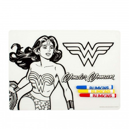 Wonder Woman Dry Erase Placemat