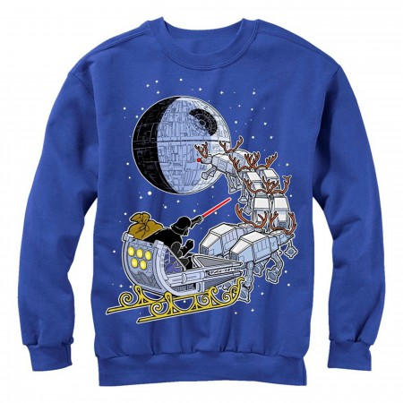 Star Wars Darth Vader Sleigh Ugly Christmas Sweater Design Sweatshirt