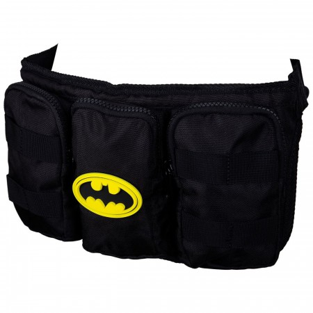 Batman Rubber Mold Logo Fanny Pack Belt Bag