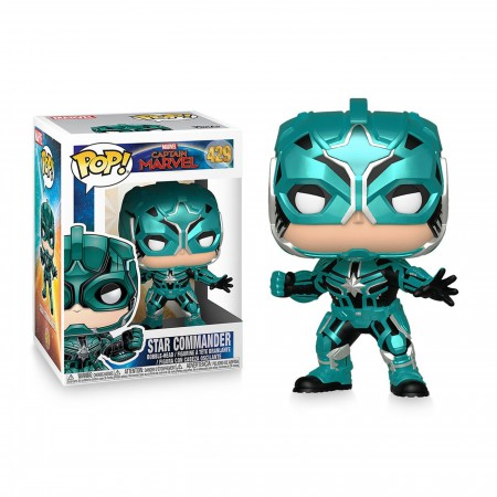 Pop! Marvel: Captain Marvel - Star Commander
