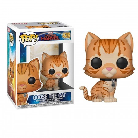 Pop! Marvel: Captain Marvel - Goose the Cat