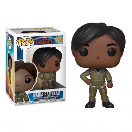 Pop! Marvel: Captain Marvel - Maria Rambeau