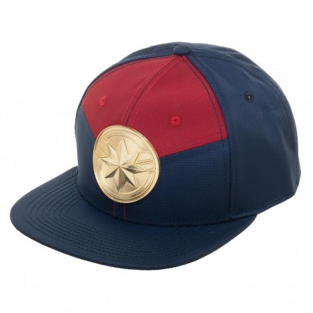 Captain Marvel Suit Up Snapback Hat