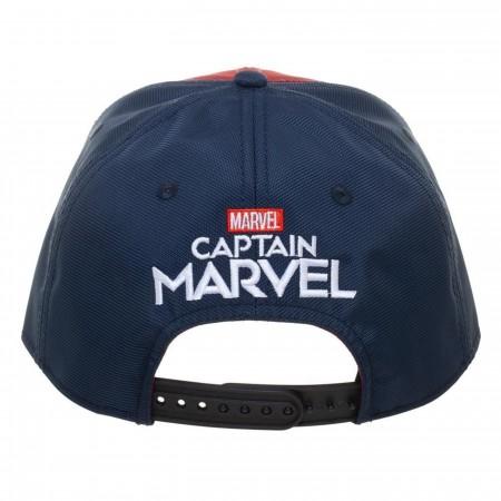 Captain Marvel Suit Up Snapback Hat