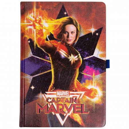 Captain Marvel Premium Journal