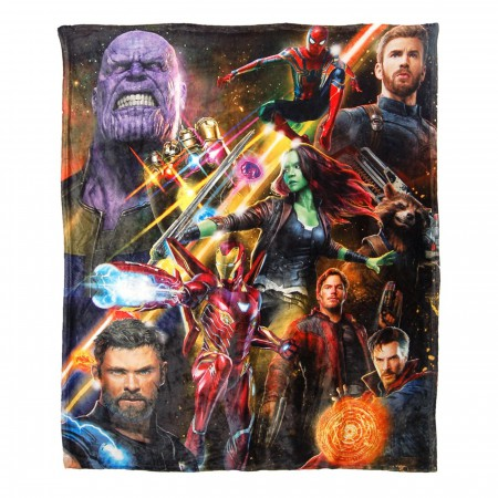 Avengers 50x60 Silk Touch Throw
