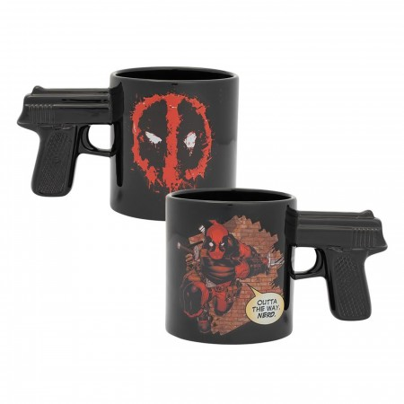 Marvel Deadpool 20 oz. Sculpted Ceramic Mug