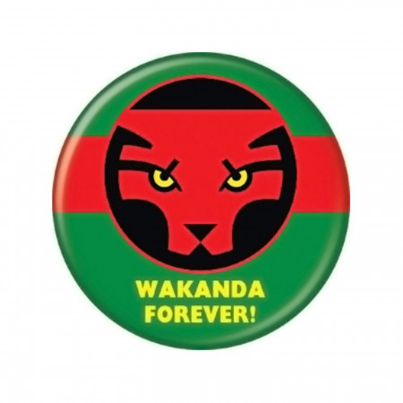 Wakanda Forever Button