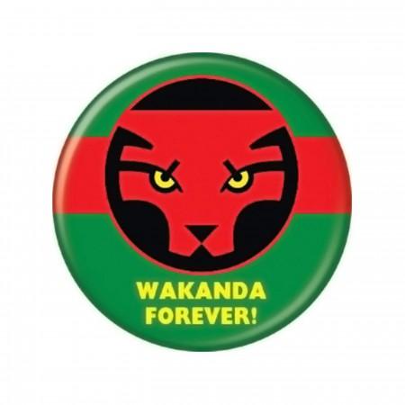 Wakanda Forever Button