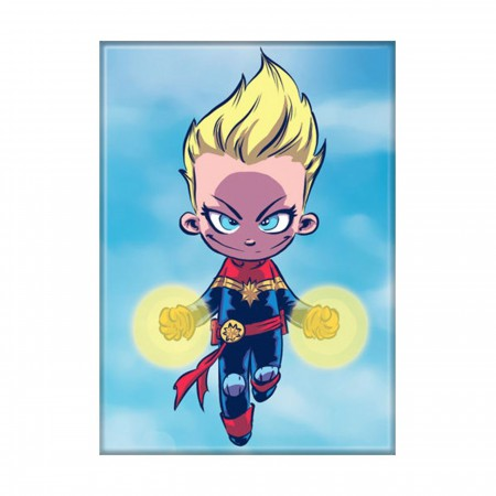 Scottie Young Ms Marvel Magnet