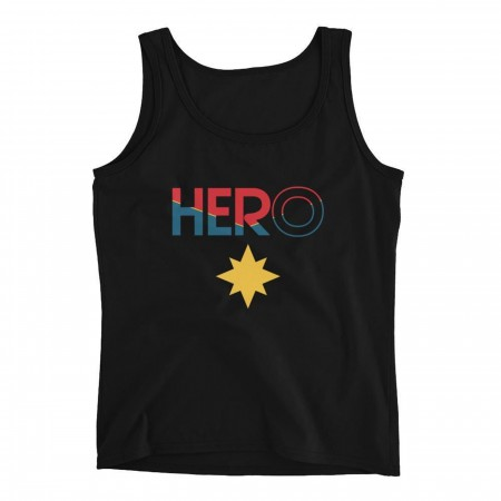 PREORDER- Captain Marvel Hero Starts with HER Women's Tank Top