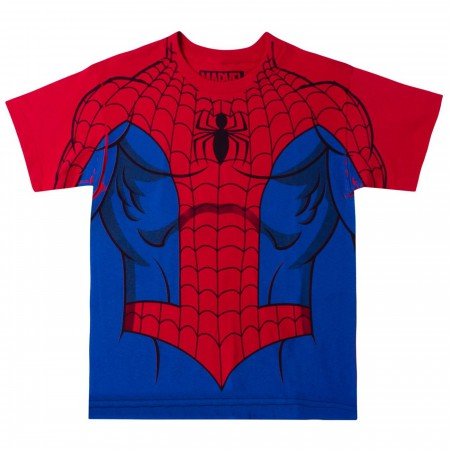 Marvel Comics The Amazing Spider-Man Costume Youth T-shirt