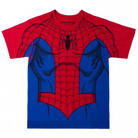 Marvel Comics The Amazing Spider-Man Costume Youth T-shirt
