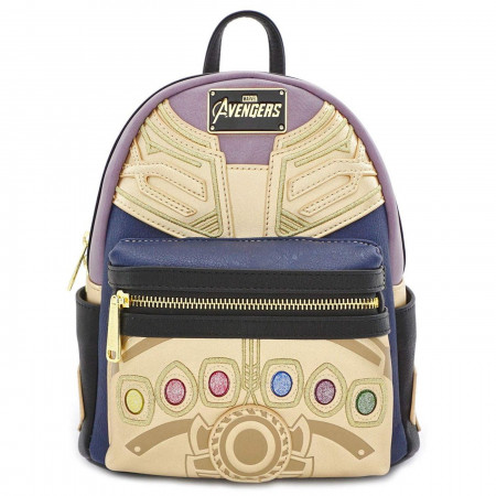 Avengers Endgame Movie Thanos Infinity Gauntlet Mini Backpack