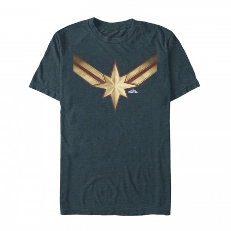 Captain Marvel Vintage Star Costume Men's T-Shirt