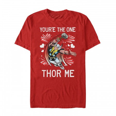 Valentine's You're the One Thor Me Men's T-Shirt Men's T-Shirt