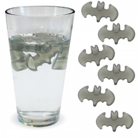 DC Comics Batman Insignia Reusable Ice Cubes