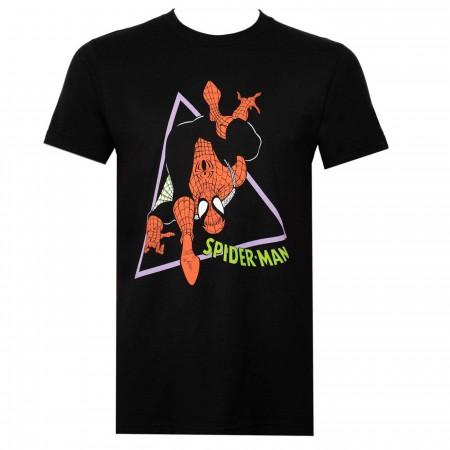 90's Spider-Man Black Men's T-Shirt