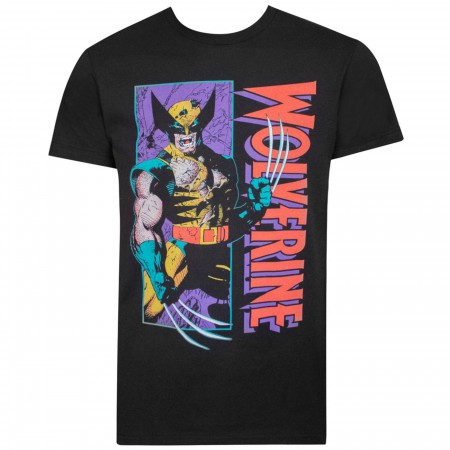 Wolverine Shredded Black Men's T-Shirt