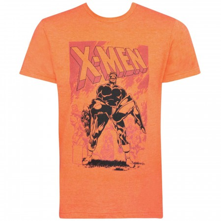 X-Men Death of Phoenix Orange Men's T-Shirt