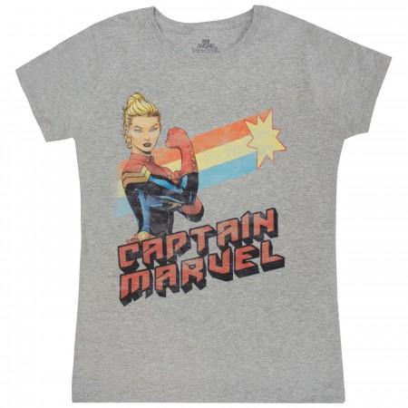 Captain Marvel Shooting Star Women's T-Shirt