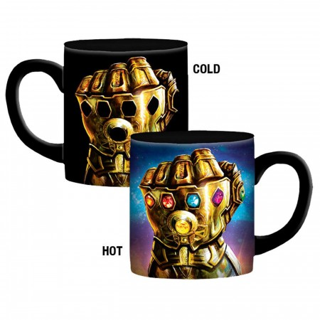Marvel Avengers Endgame Gauntlet 20oz Heat Reveal Mug