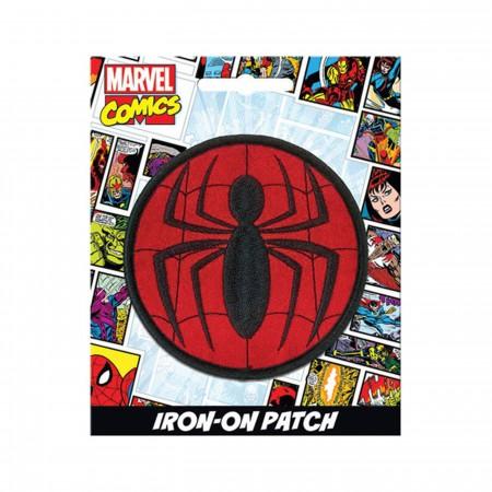"Spider-Man Logo 3"" Iron-on Patch"