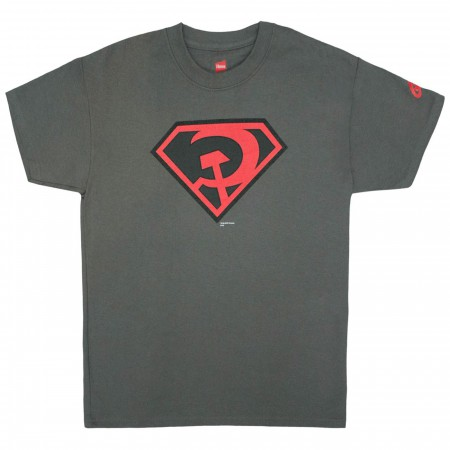Superman Red Son Symbol Youth T-Shirt